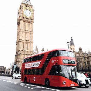 Big Ben and double decker bus