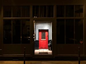 Little red door Paris