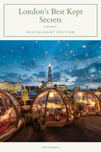 Unique restaurants in london
