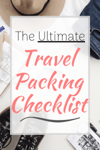 The Ultimate Packing Checklist for Any Vacation