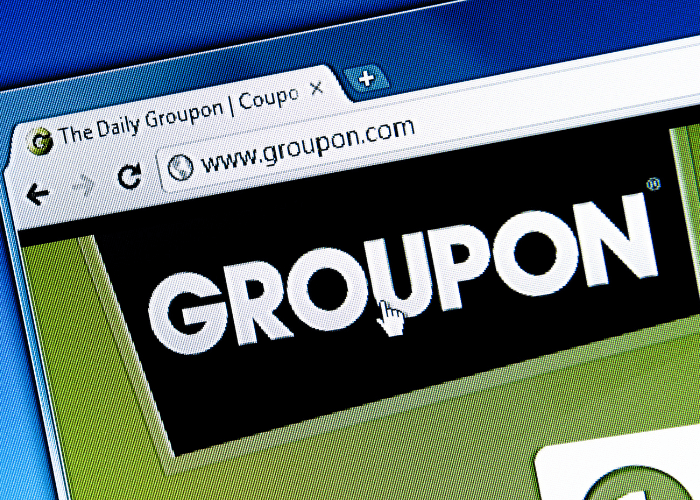 groupon image on computer