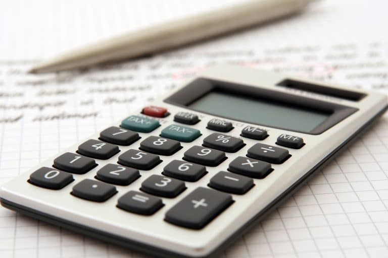 Calculator on Accounting Workspace