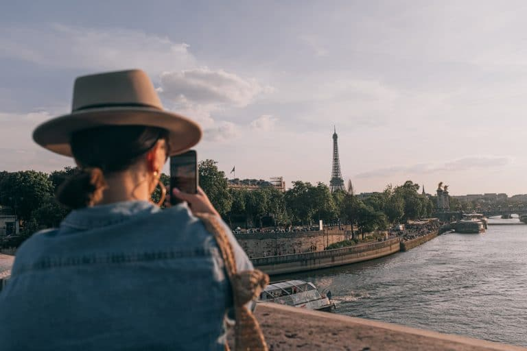 Person Taking Photos