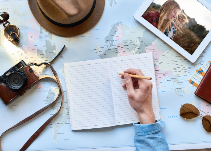 travel journaling ideas