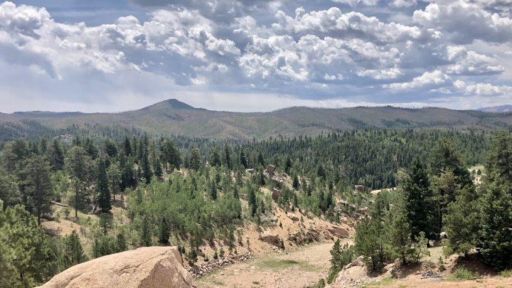 rampart reservoir Colorado Springs