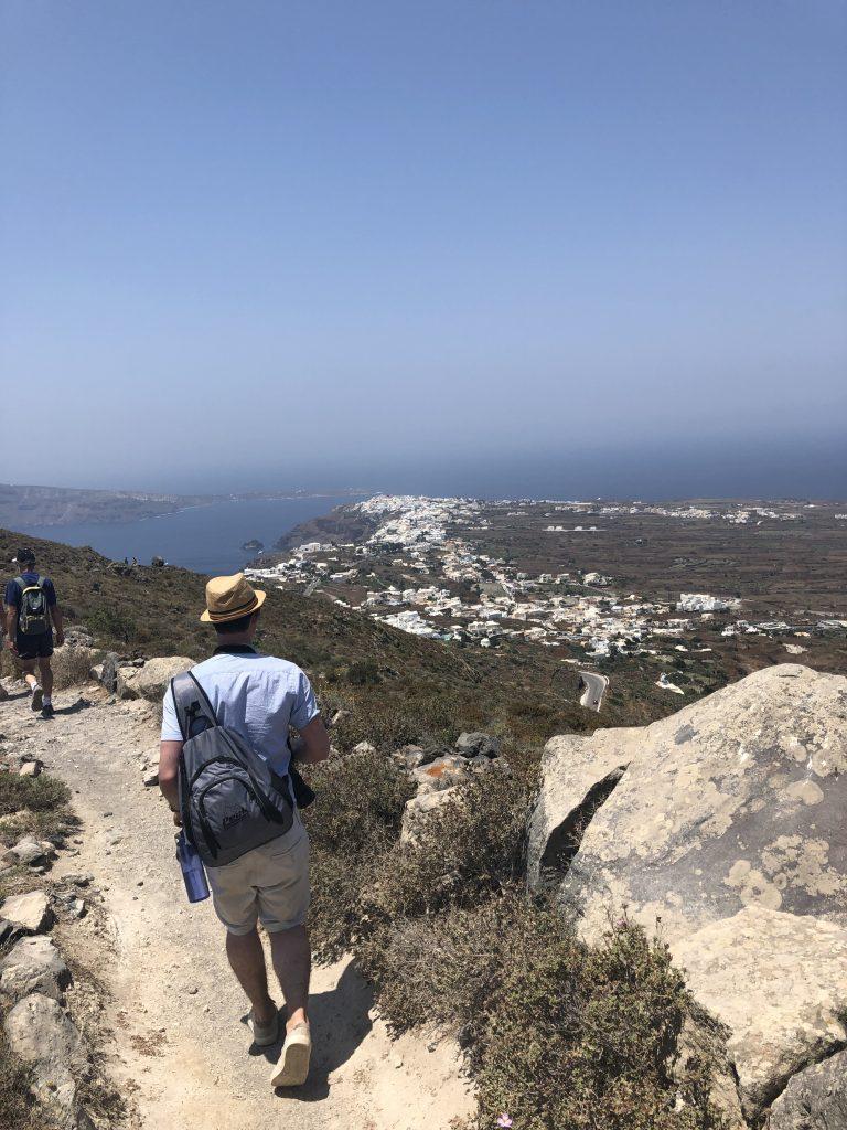 Thera to oia hike