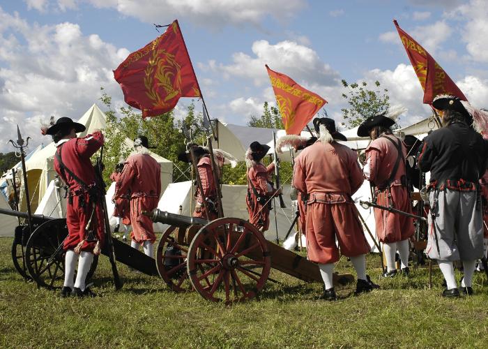 militia muster and training