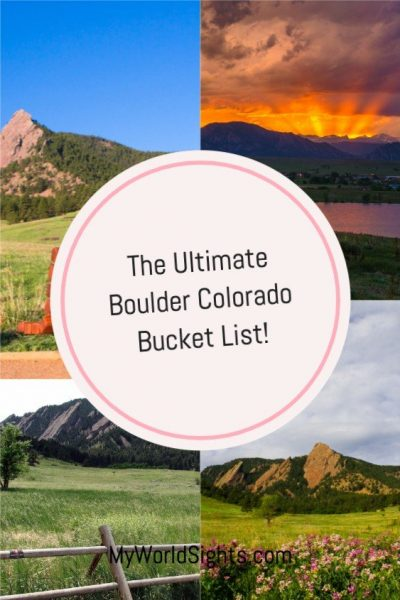 boulder Colorado bucket list