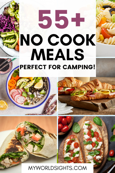 no cook camping meals