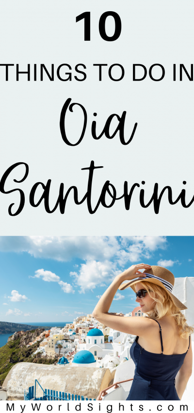 things to do in oia santorini