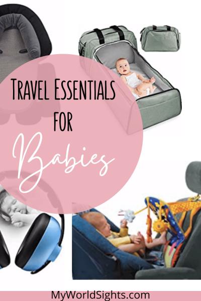 travel baby essentials
